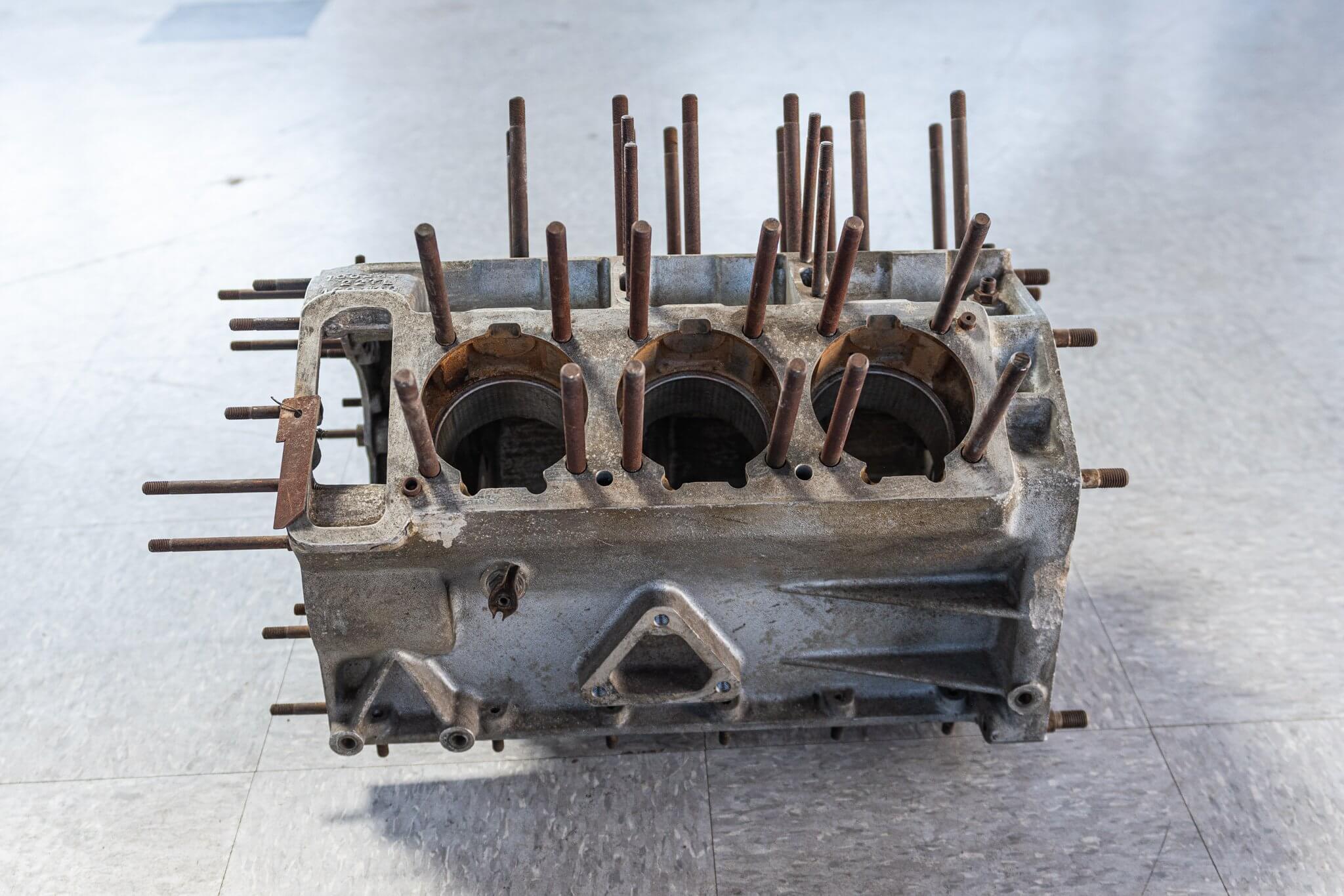 Ferrari 206 SP engine block